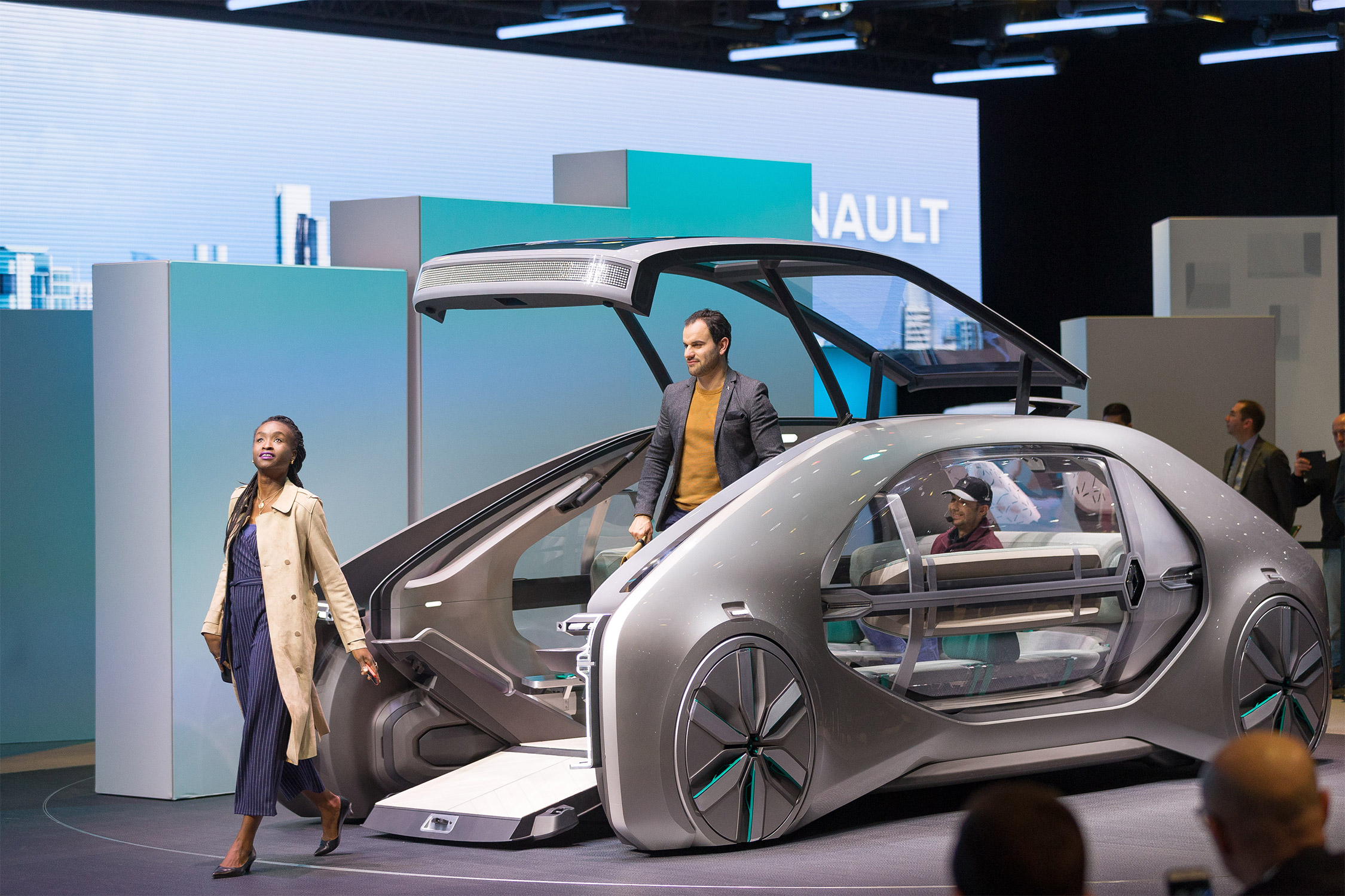 photo renault ez go concept concept car 2018 m diatheque. Black Bedroom Furniture Sets. Home Design Ideas