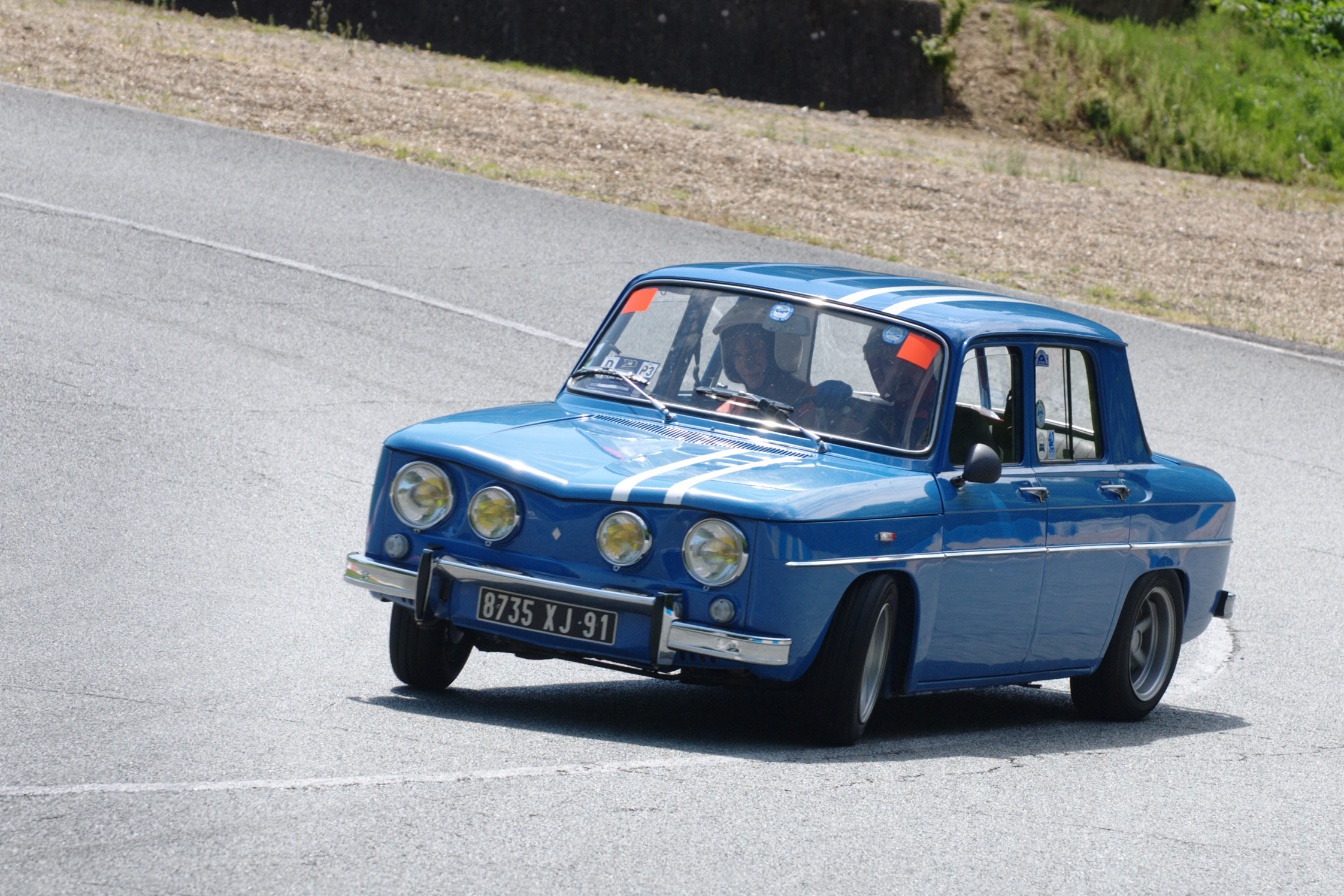 Photo Renault R8 Gordini 1100 M 233 Diatheque Motorlegend Com