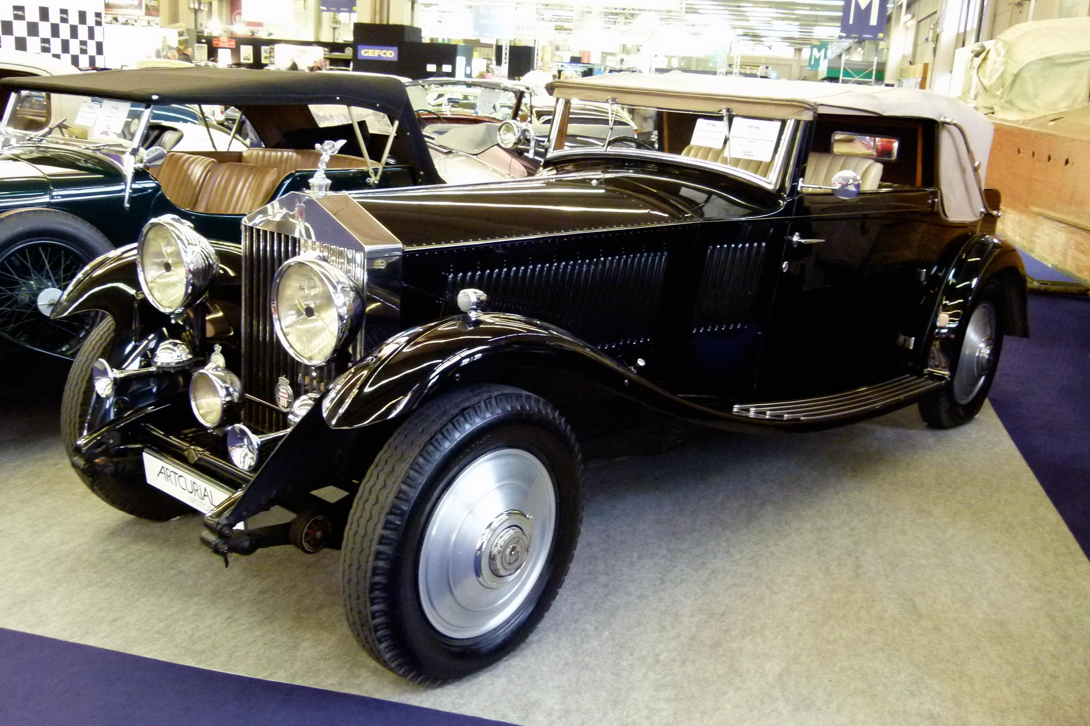 photo rolls royce phantom ii continental saloon coup 1930 m diatheque. Black Bedroom Furniture Sets. Home Design Ideas