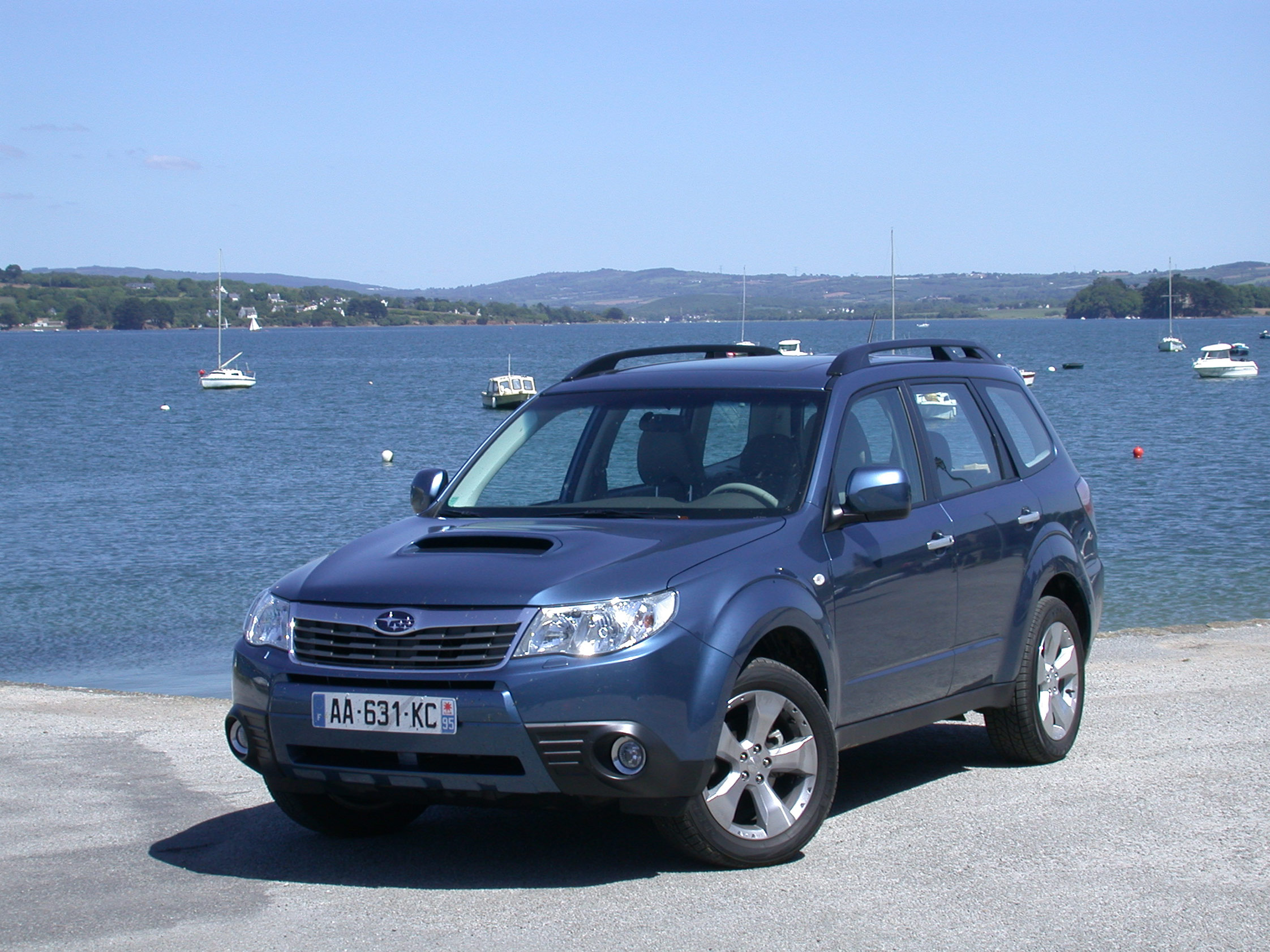 photo subaru forester 2 0d x 4x4 2009 m diatheque. Black Bedroom Furniture Sets. Home Design Ideas