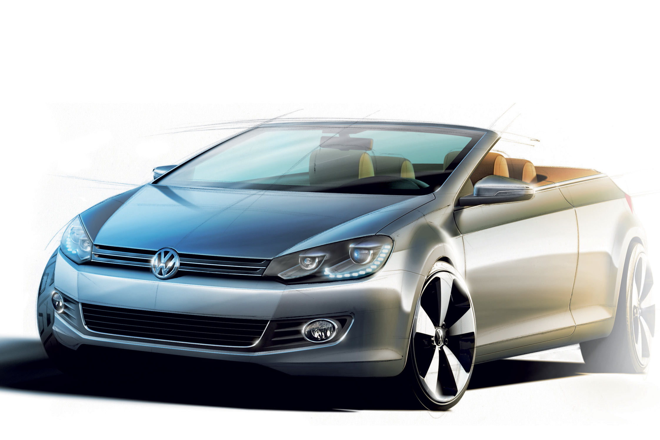 photo volkswagen golf vi 1 6 tdi 105 ch cabriolet 2011. Black Bedroom Furniture Sets. Home Design Ideas