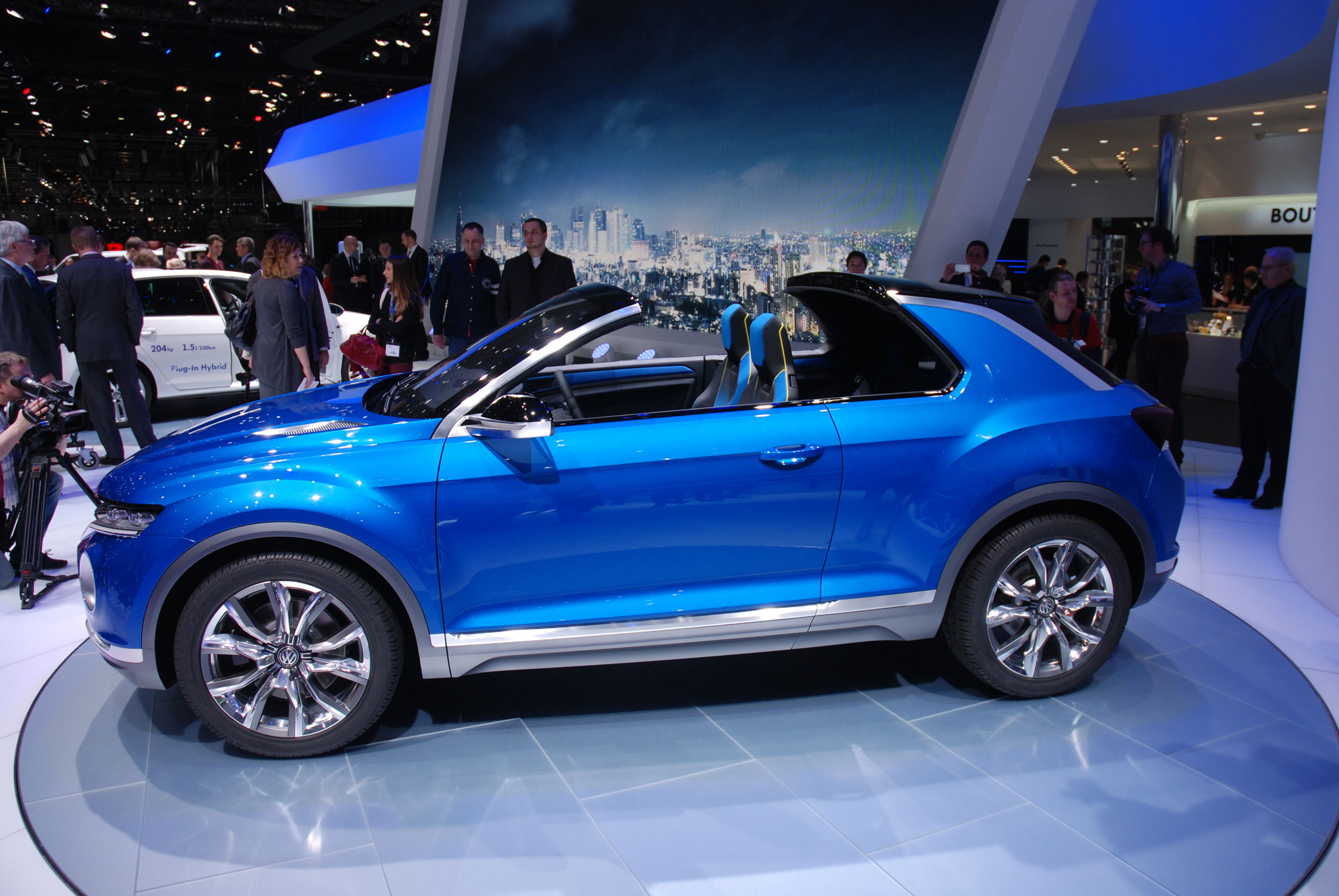 Photo volkswagen t roc concept salon de gen ve 2014 m diatheque - Concept salon de the ...