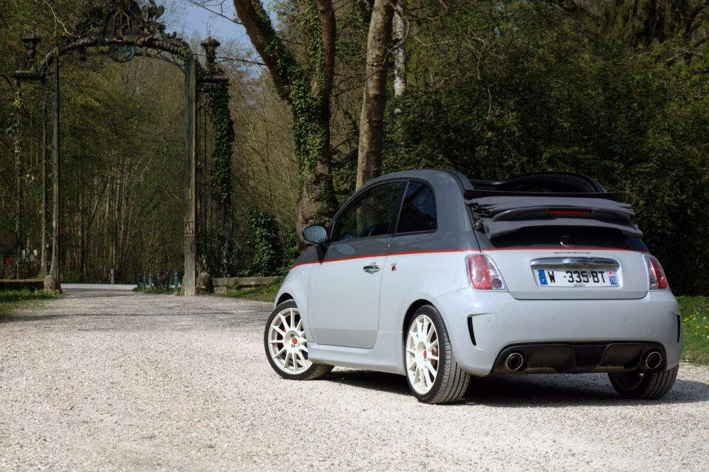 ABARTH 500 C 1.4 Turbo T-Jet Esseesse cabriolet 2011