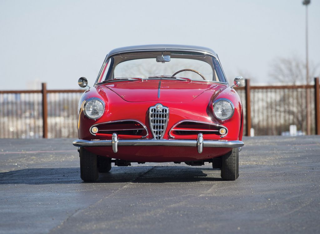 ALFA ROMEO 1900 C Super Sprint Touring coupé 1957