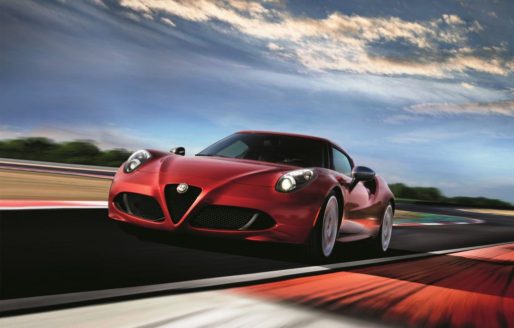 ALFA ROMEO 4C Limited Edition coupé 2016