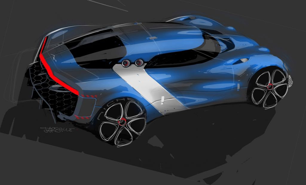 Photo Alpine A110 50 Concept Concept Car 2012