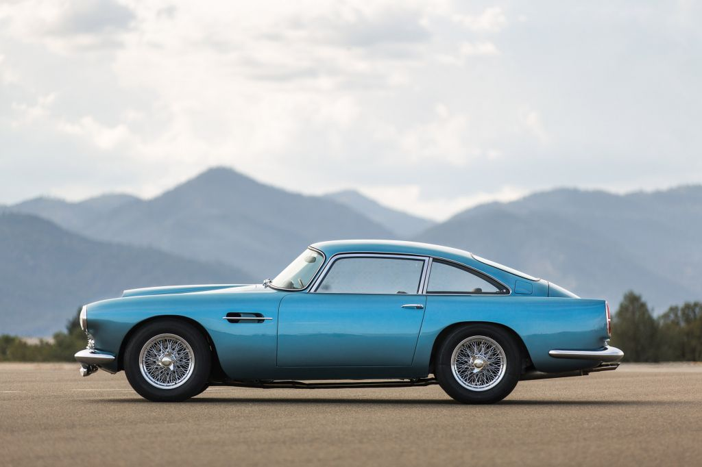 ASTON MARTIN DB4  coupé 1961