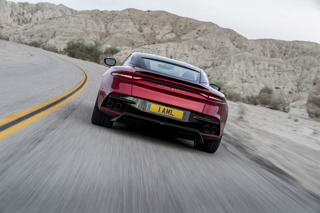ASTON MARTIN DBS Superleggera coupé 2018