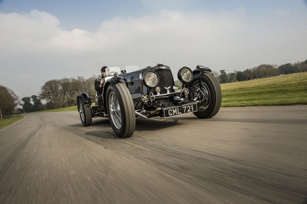 ASTON MARTIN ULSTER Roadster 1.5 compétition 1935