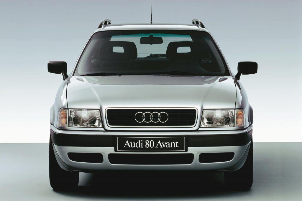 photo 1986 : Audi 80 - Motorlegend.com