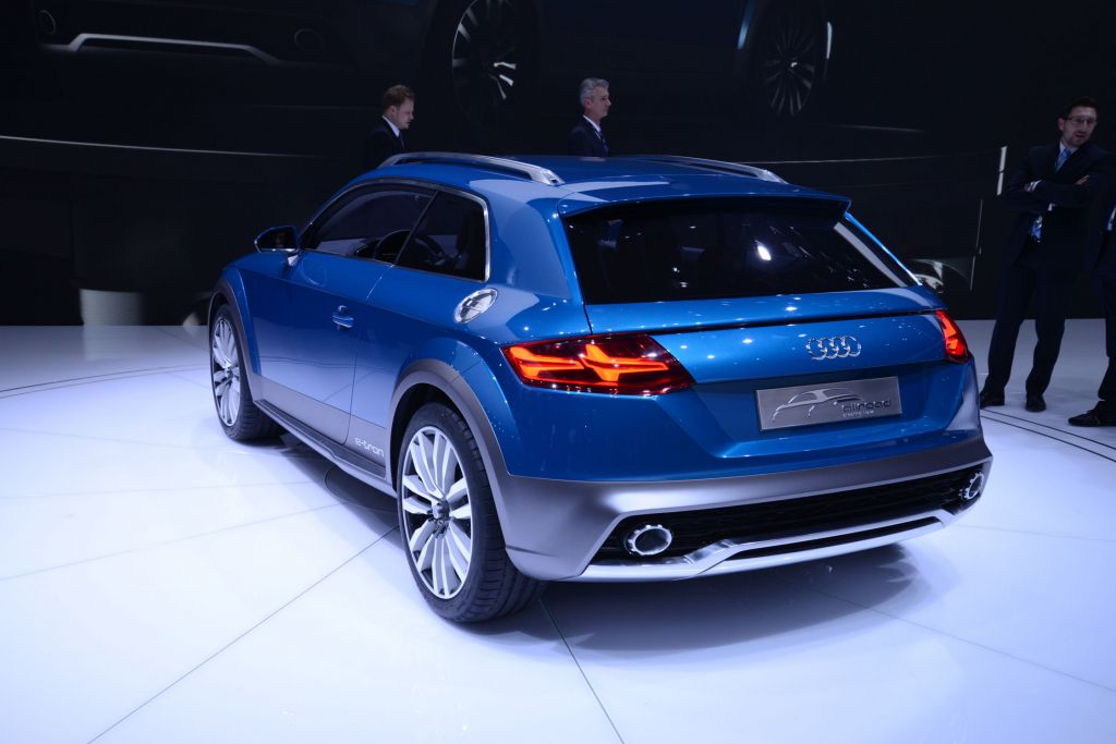 AUDI ALLROAD SHOOTING BRAKE Concept concept-car 2014