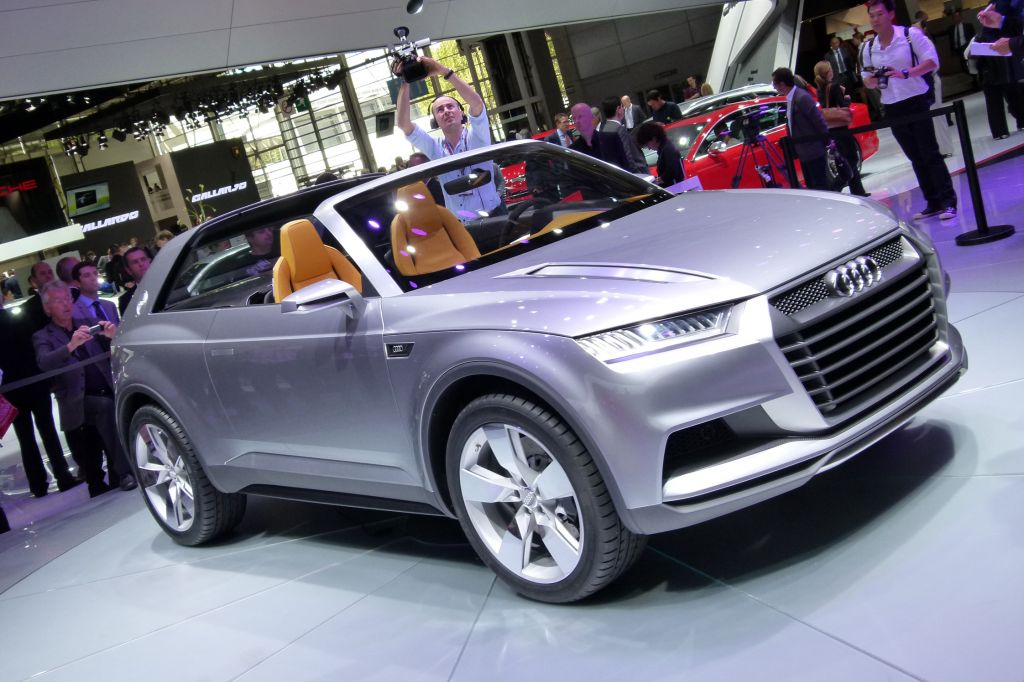 AUDI CROSSLANE COUPE Concept concept-car 2012