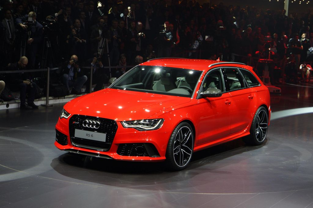 AUDI RS6 (C7) Avant V8 560 ch break 2013