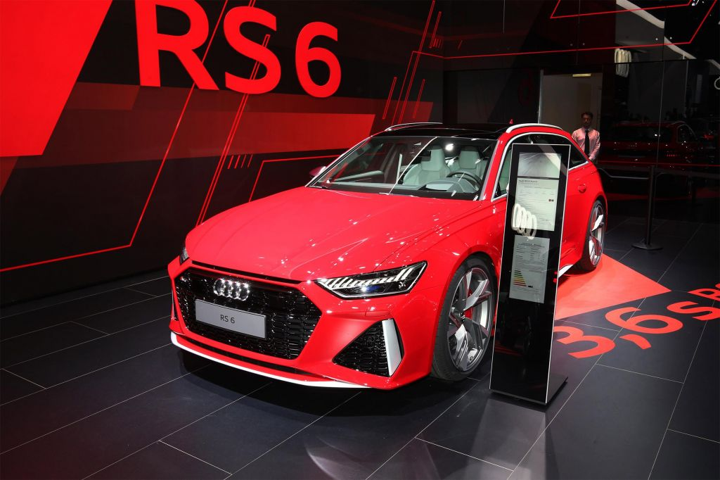 AUDI RS6 (C8) Avant V8 biturbo TFSI 600 ch break 2019