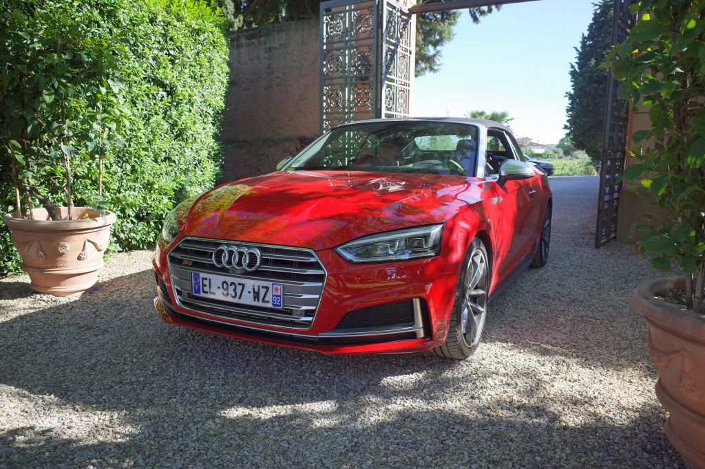AUDI S5 (II) 3.0 TFSI 354 ch Cabriolet cabriolet 2017