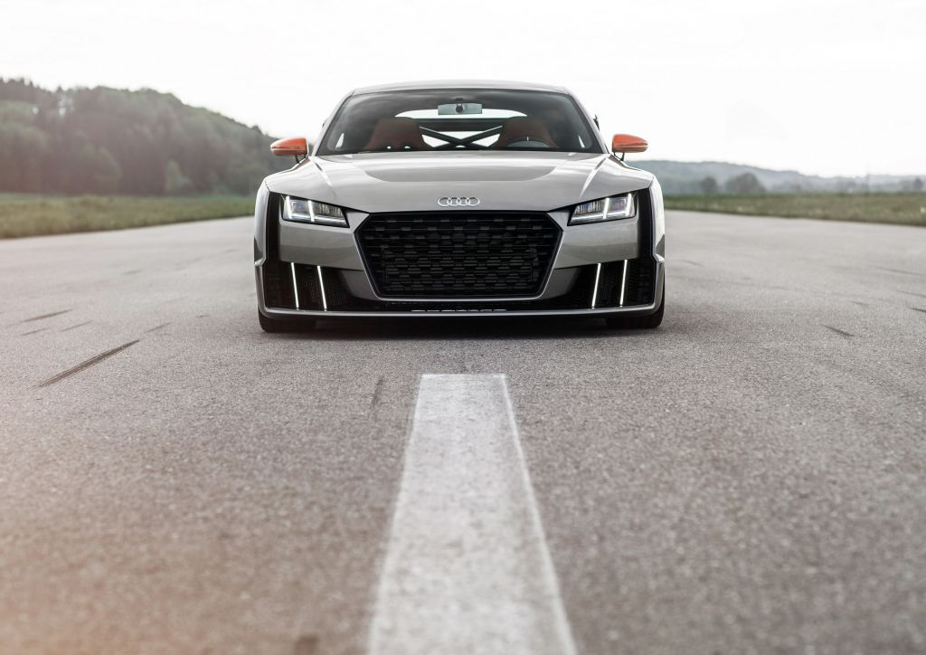 AUDI TT (8S) clubsport turbo concept concept-car 2015