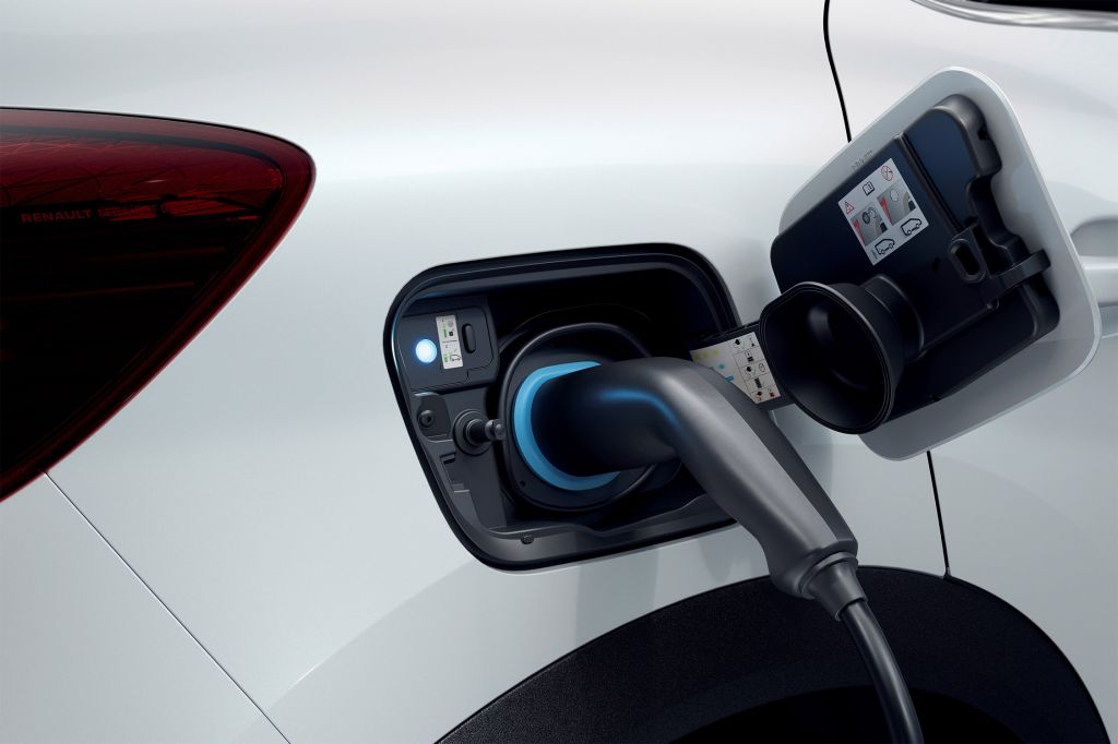 Renault Captur hybrid e-tech plug-in