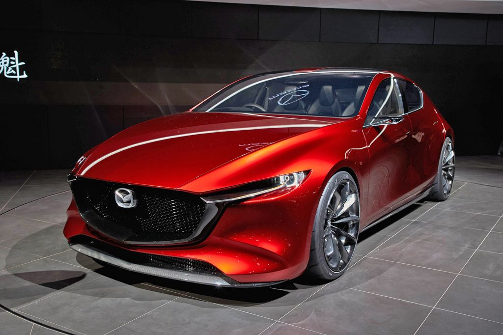 Mazda kai concept salon de tokyo 2017 diaporama photo - Concept salon de the ...