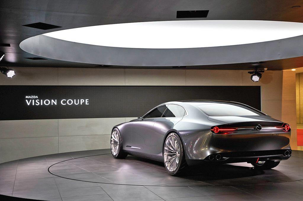 Mazda vision coup concept salon de tokyo 2017 for Salon de tokyo 2017
