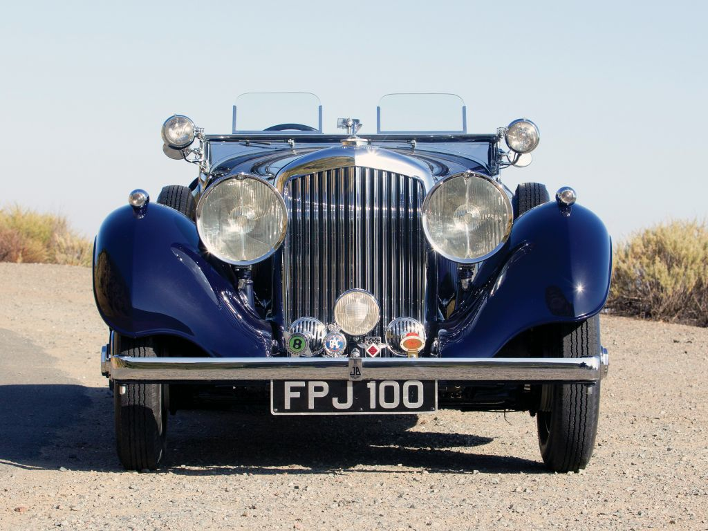 BENTLEY 4 1/4 LITRES Open Tourer by Carlton cabriolet 1937