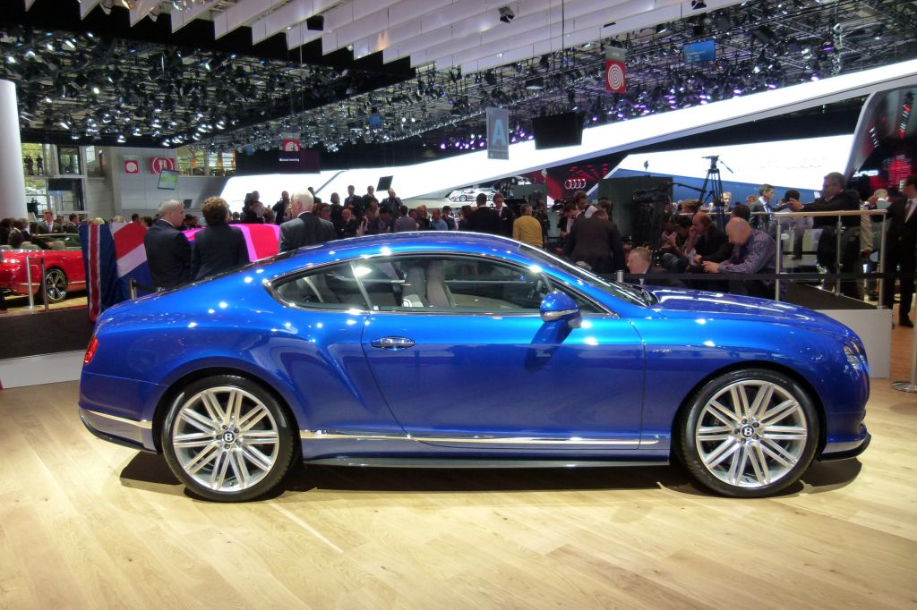 BENTLEY CONTINENTAL GT (I) Speed coupé 2012
