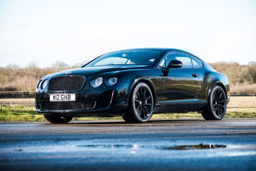 BENTLEY CONTINENTAL GT (I) Supersports 630 ch coupé 2009