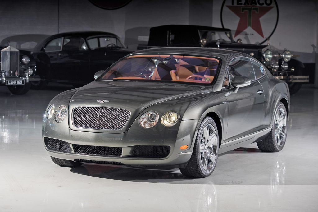 BENTLEY CONTINENTAL GT (I) W12 coupé 2005