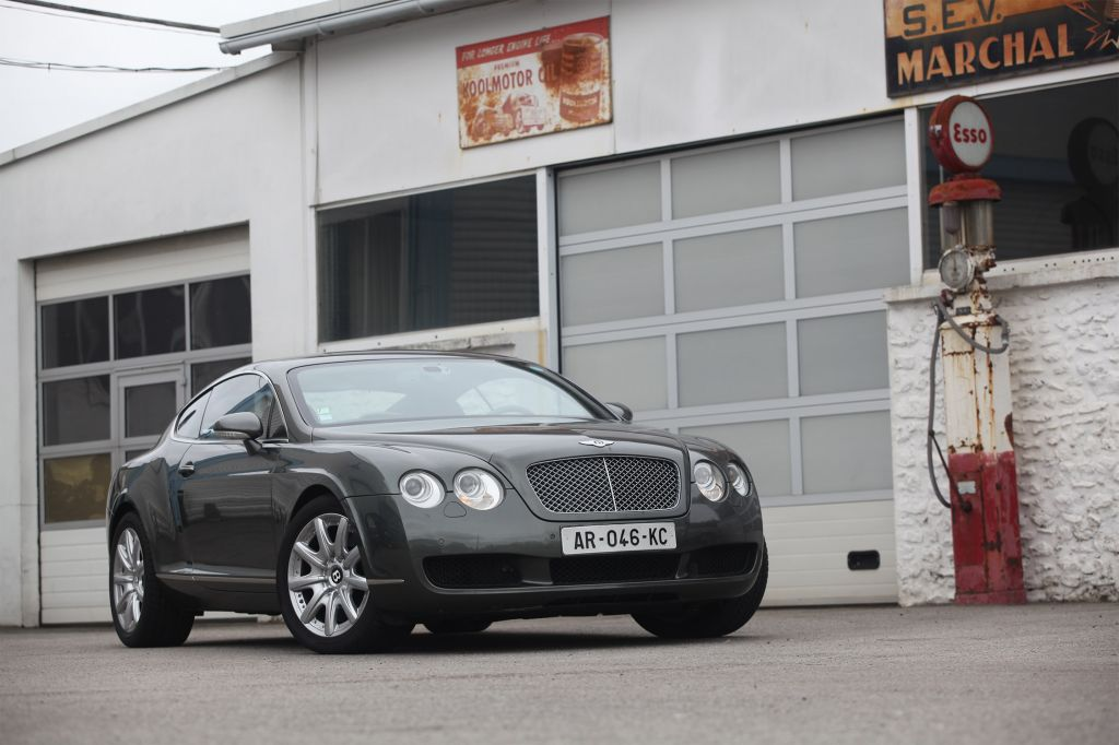 BENTLEY CONTINENTAL GT (I) W12 coupé 2006