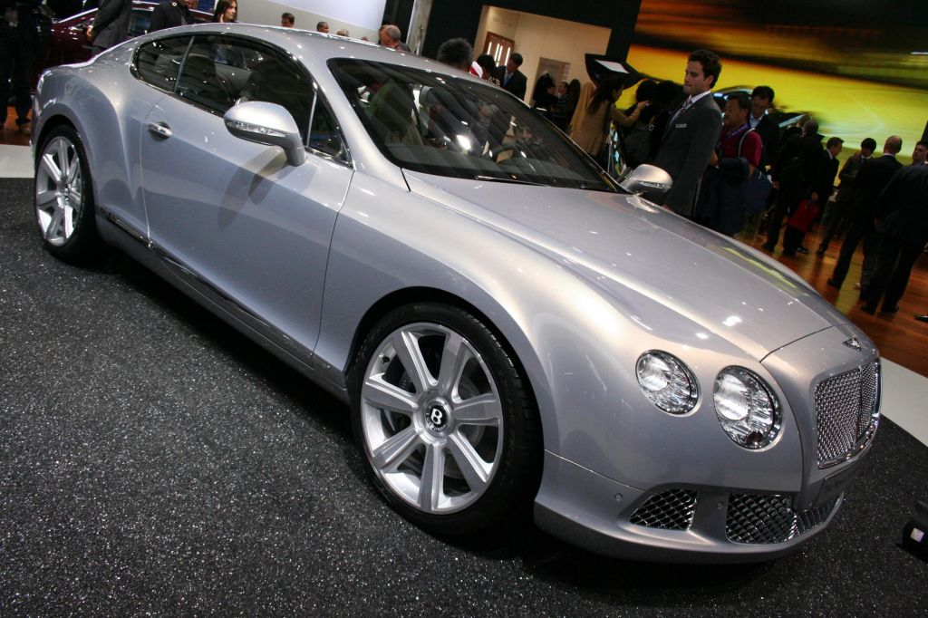 BENTLEY CONTINENTAL GT (I) W12 coupé 2011