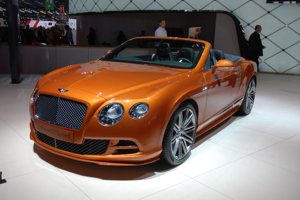 BENTLEY CONTINENTAL GT (II) Speed cabriolet 2014