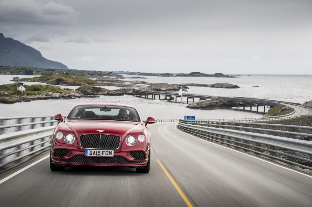 BENTLEY CONTINENTAL GT (II) Speed coupé 2015
