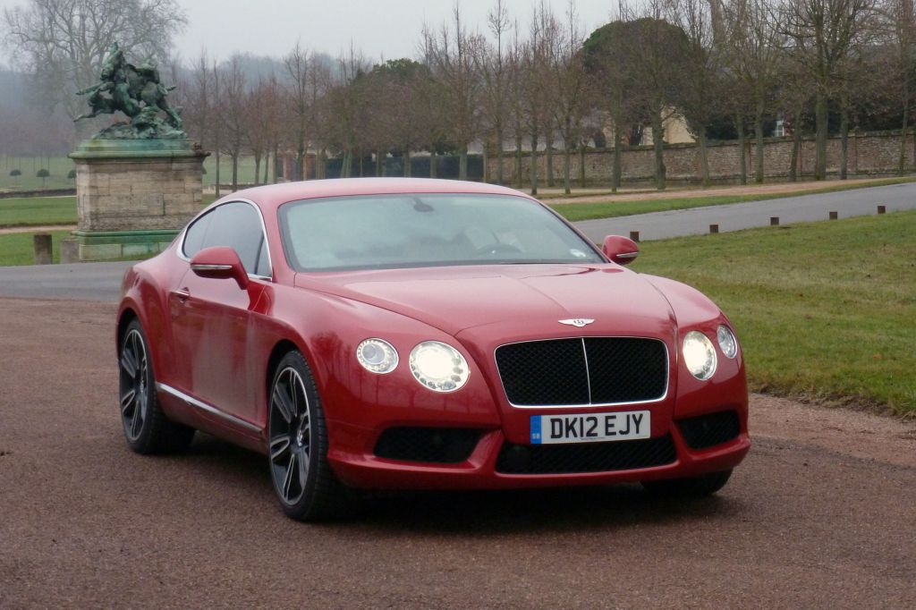BENTLEY CONTINENTAL GT (II) V8 coupé 2012