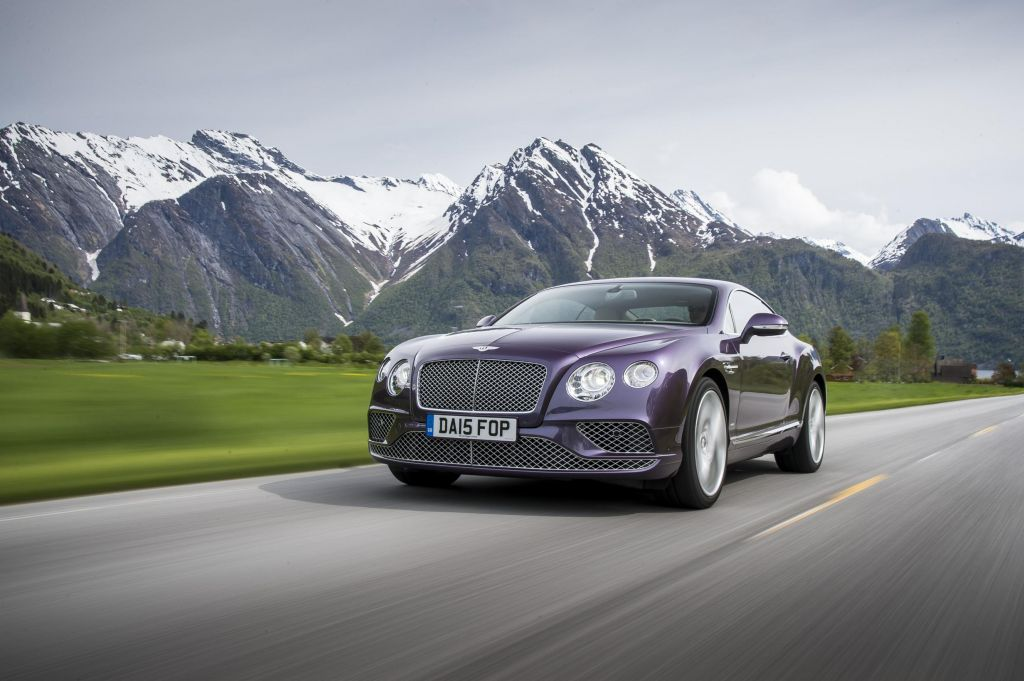 BENTLEY CONTINENTAL GT (II) V8 coupé 2015