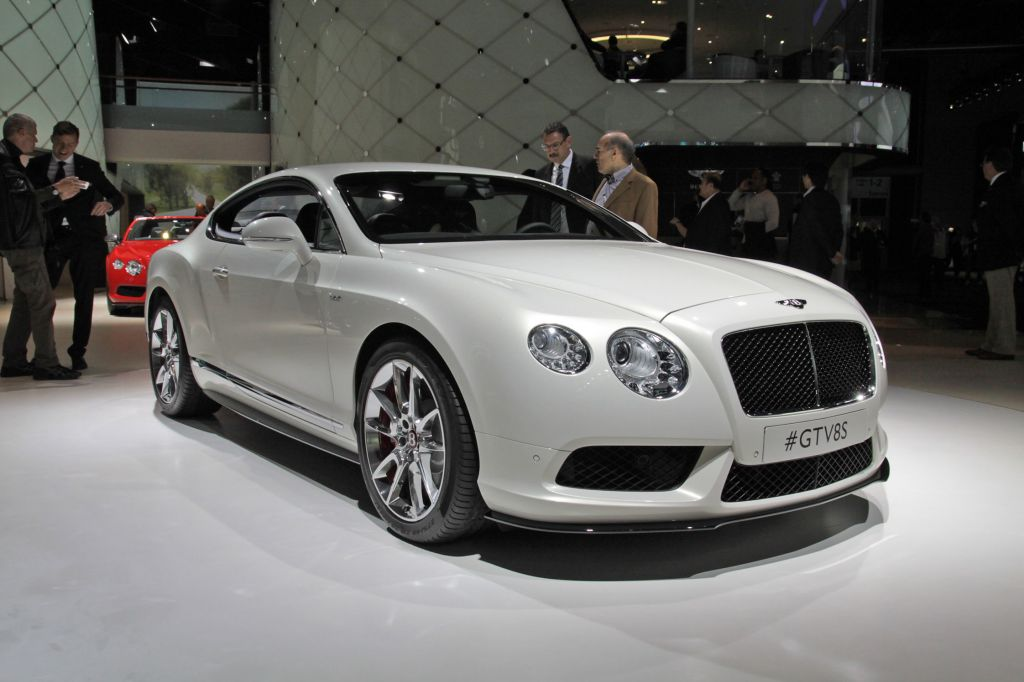 BENTLEY CONTINENTAL GT (II) V8 S coupé 2013