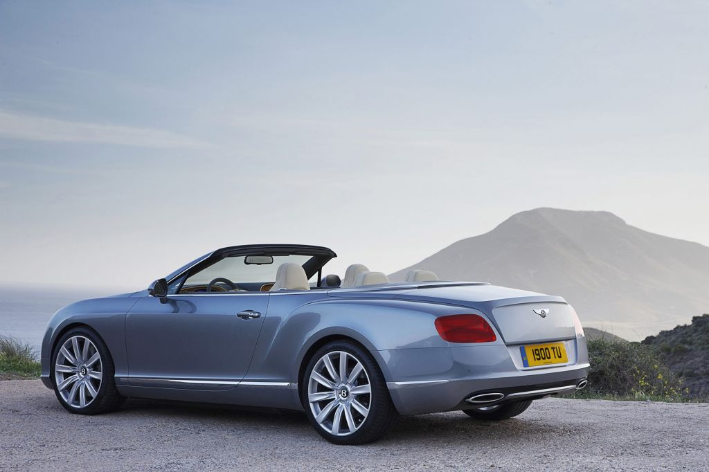 BENTLEY CONTINENTAL GTC (II) W12 cabriolet 2011