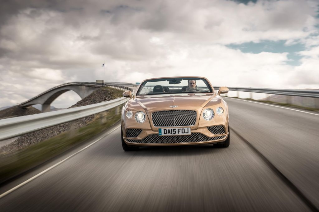 BENTLEY CONTINENTAL GTC (II) W12 cabriolet 2015