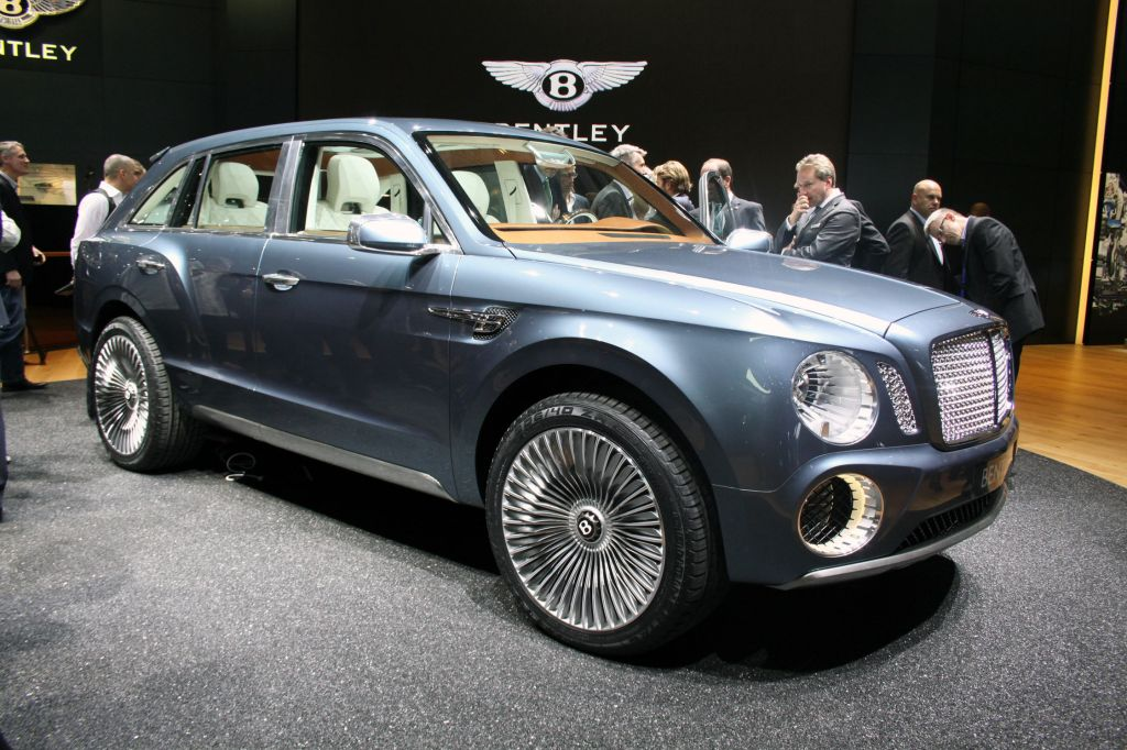 BENTLEY EXP-9F Concept concept-car 2012