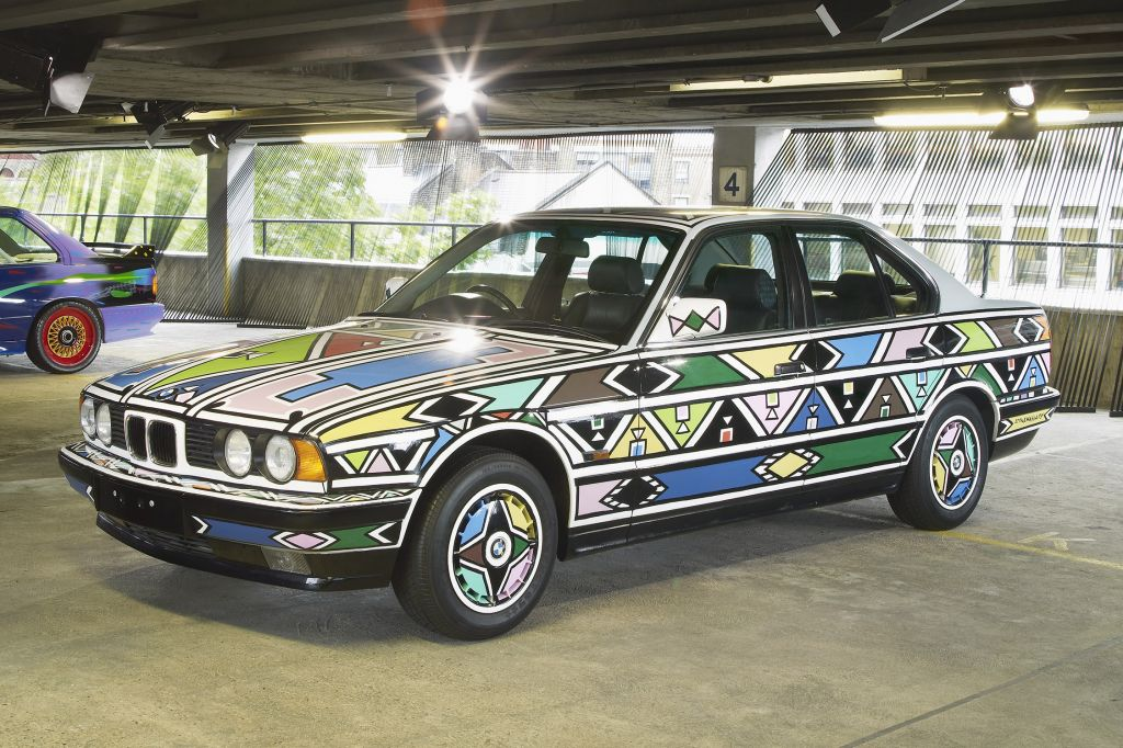 BMW 525i Esther Mahlangou, 1991