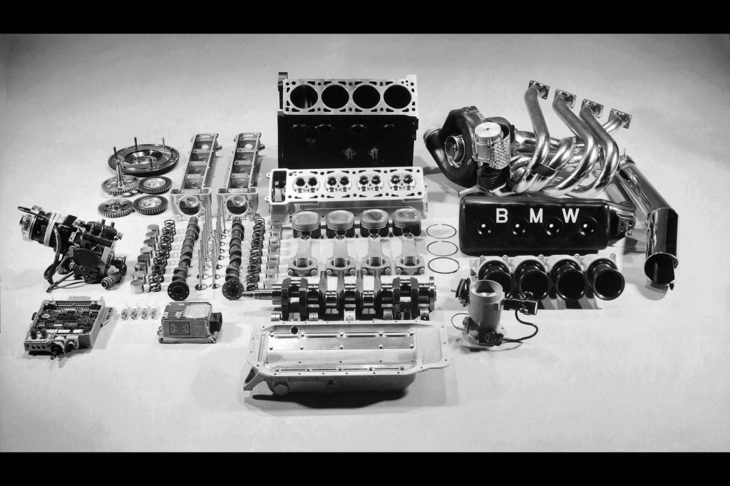 Moteur F1 Turbo Bmw Bmw Motorsport F 234 Te Ses 40 Ans