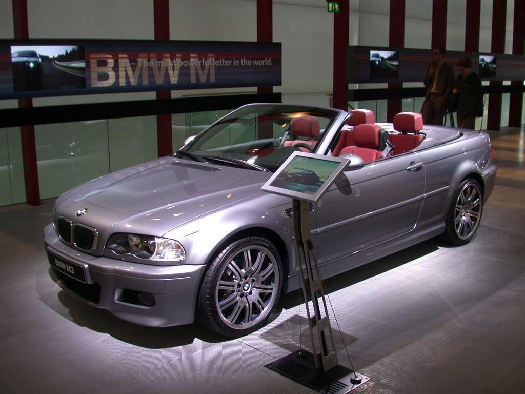 Photo Bmw M3 E46 3 2i 343 Ch Cabriolet 2003