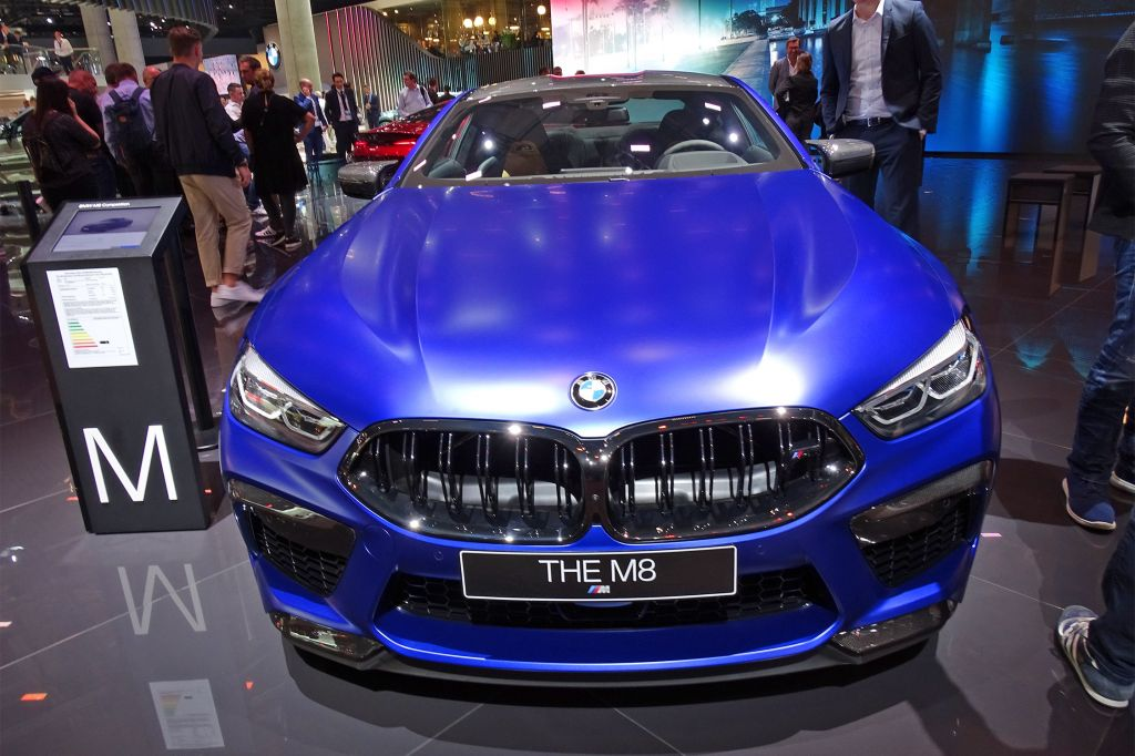 BMW M8 Competition V8 4.4 625 ch coupé 2019