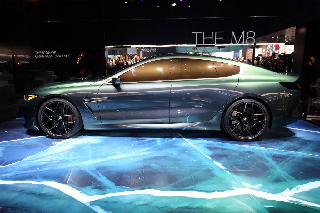 BMW M8 Gran Coupe Concept concept-car 2018