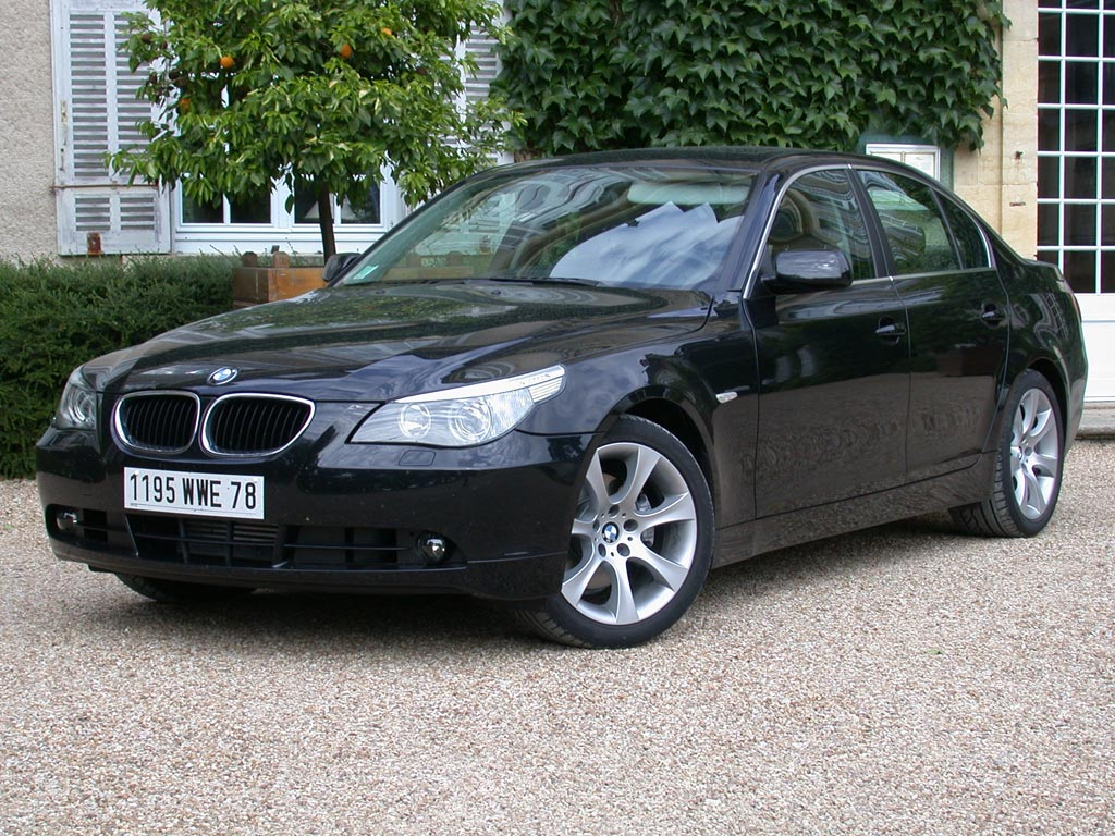 photo bmw serie 5 e60 berline 530d 231ch berline 2003 m diatheque. Black Bedroom Furniture Sets. Home Design Ideas