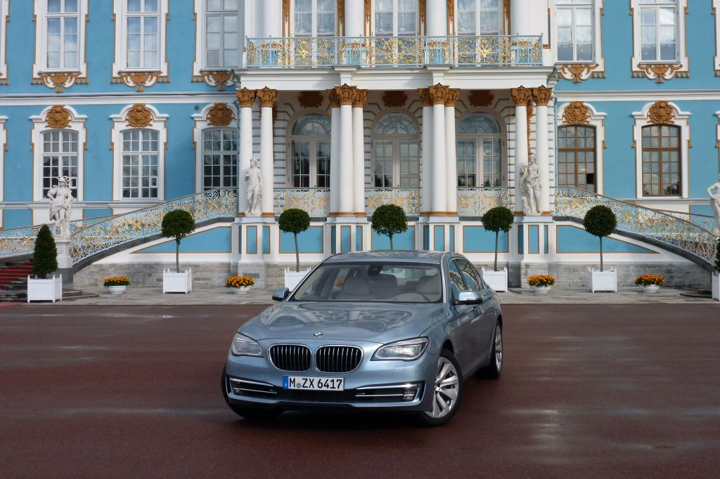BMW SERIE 7 ACTIVEHYBRID L berline 2012