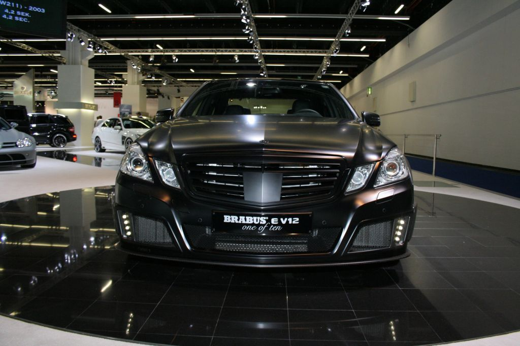 BRABUS E V12 one of ten berline 2009