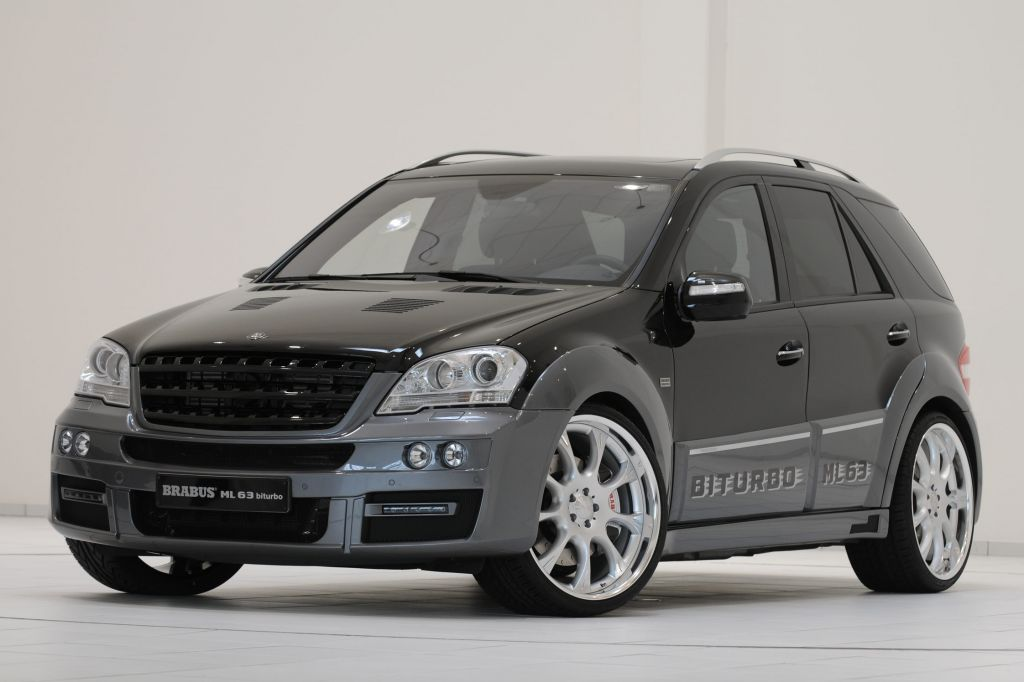 Photo Brabus Ml 63 V8 Biturbo 4x4 2009 M 233 Diatheque Motorlegend Com