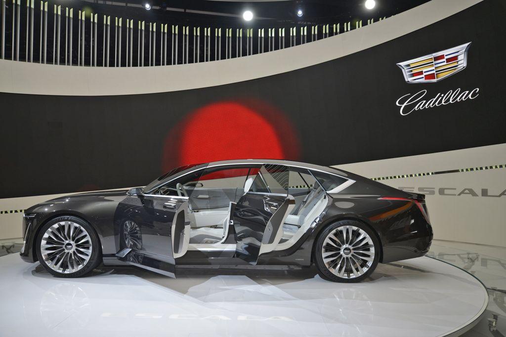 Innovative Cadillac Escala Concept  Salon De Los Angeles 2016  Diaporama Photo
