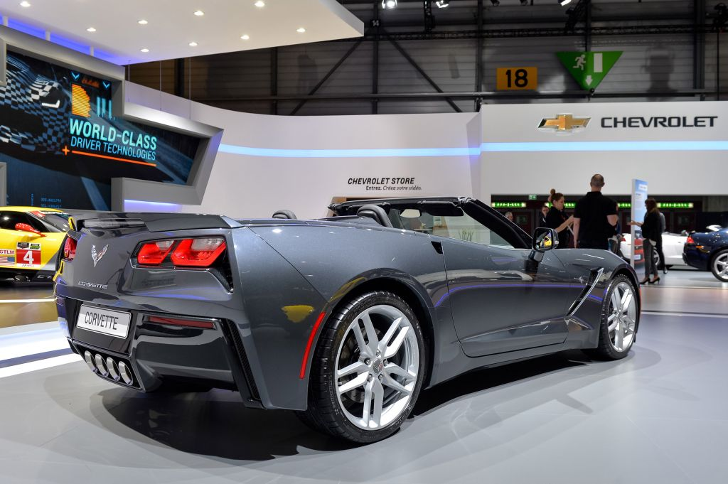 CHEVROLET CORVETTE (C7) Stingray Coupe 6.2 V8 466ch cabriolet 2014