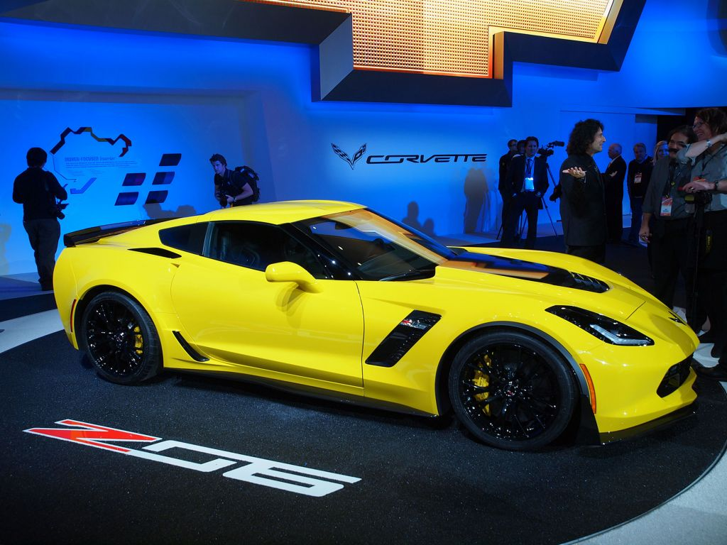 CHEVROLET CORVETTE (C7) Z06 659 ch coupé 2014