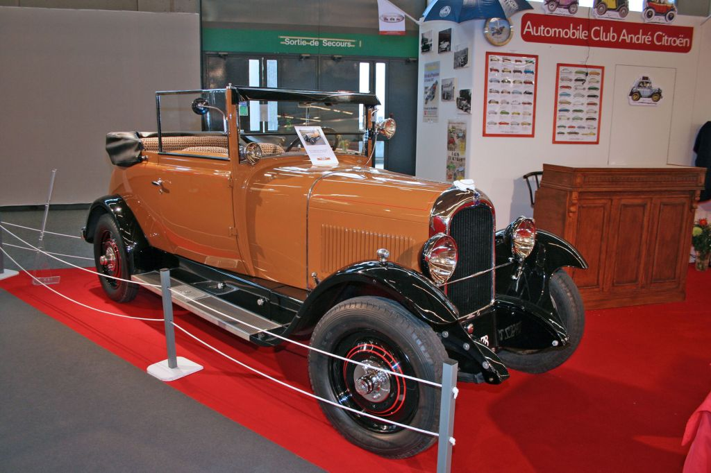 photo citroen b14 torpedo cabriolet 1927